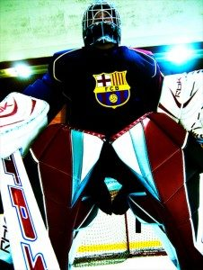 Ice Hockey at Camp Nou