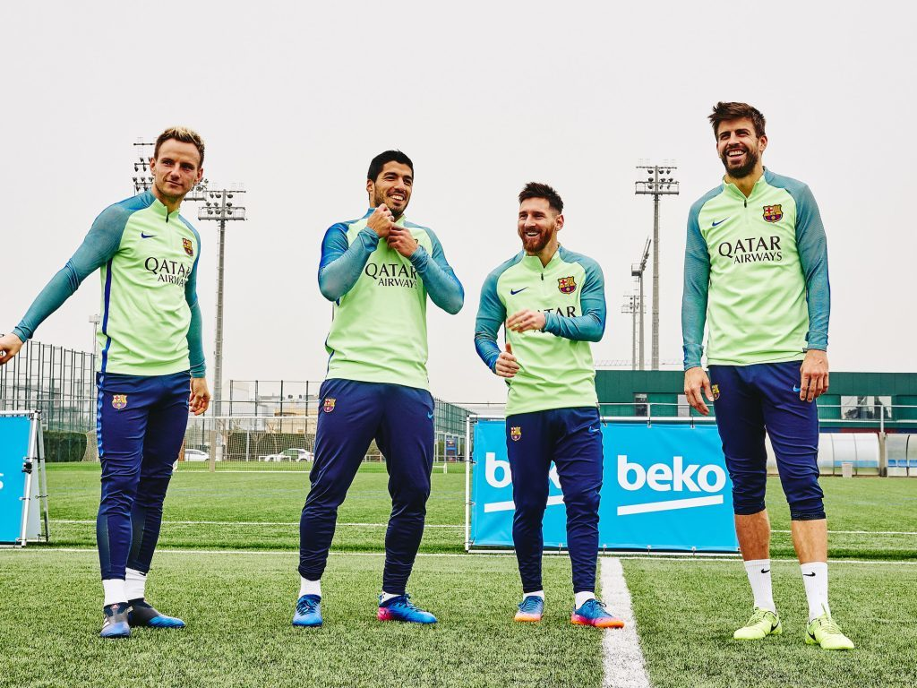 Given the run around for a day at Barça FC