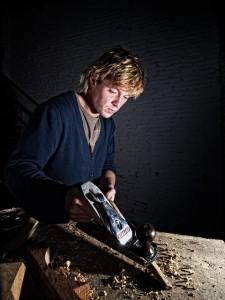 Mark Redden, artist, boat builder, Currachs