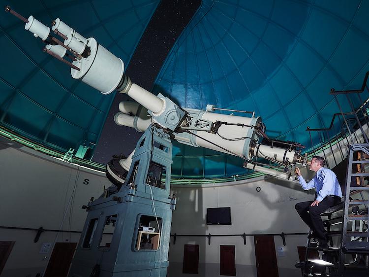 Jordi in the Observatory
